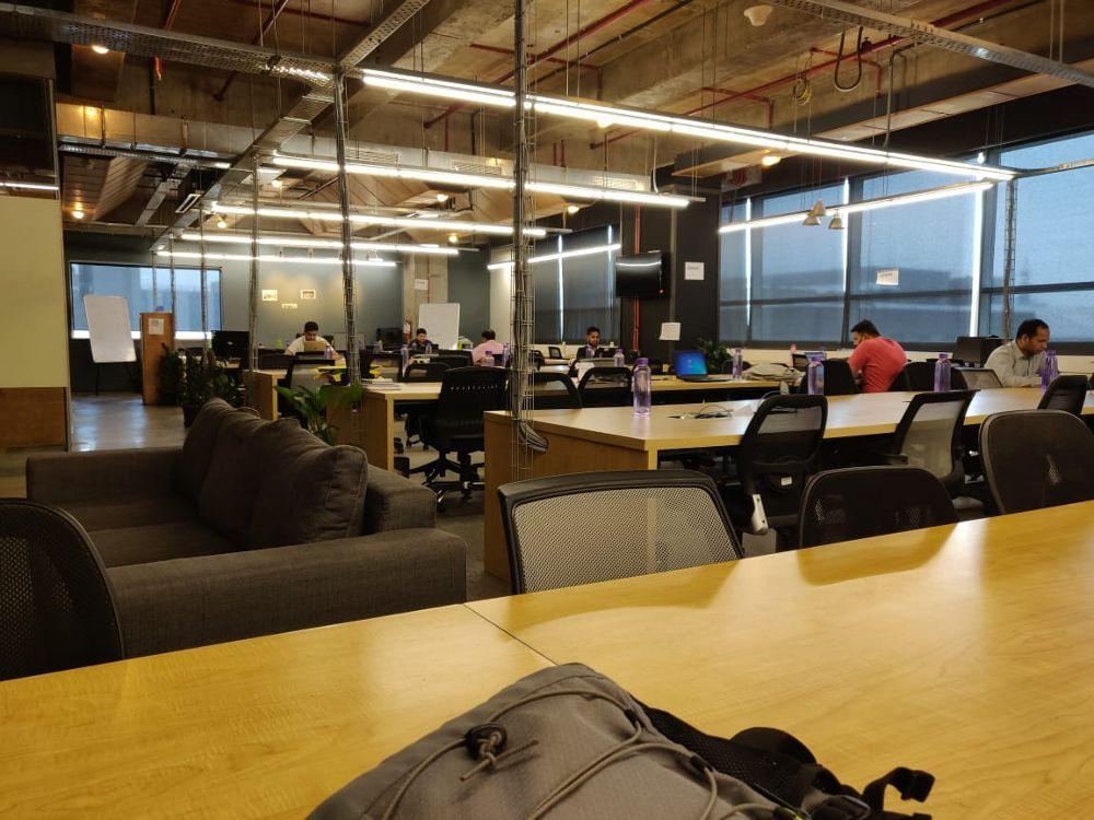 Tech startups in Gargaon - Delhivery office