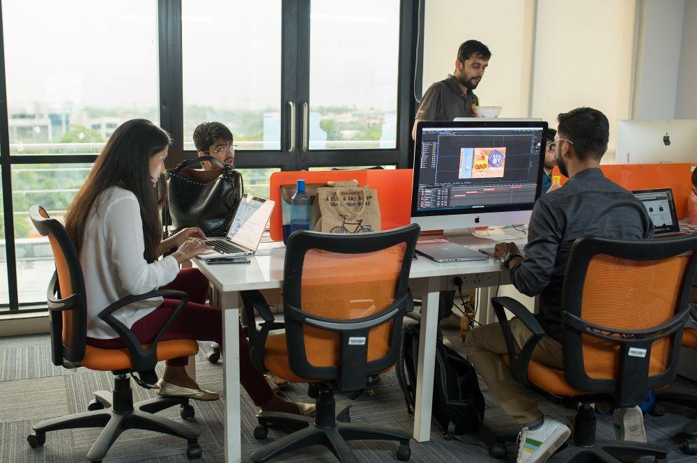 Tech startups in Gargaon - Grofers Office