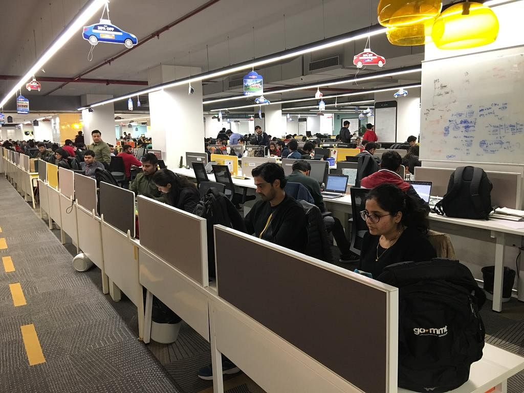 Tech startups in Gargaon - MakeMyTrip Office